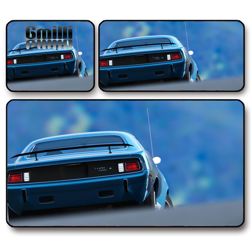 Gmilli Profession Gamers Thicken Gaming Mouse Pad Cool Racing Car Pattern Laptop PC Mats XL Large 700x300mm CAR60 Dropshipping
